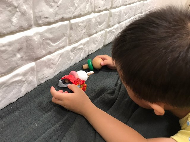 玩具を大事に扱うことが学べる!