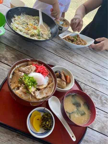 【スザンヌの妹マーガリンの子育てブログ】涼を求めて南阿蘇♡ナイスビューな穴場レストラン♡親子リンクコーデしてみたよっ