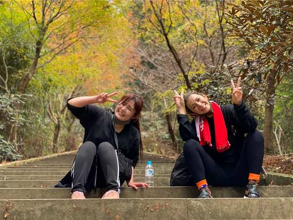 【スザンヌの妹マーガリンの子育てブログ】日本一の石段に挑戦!!3333段をのぼったら。。