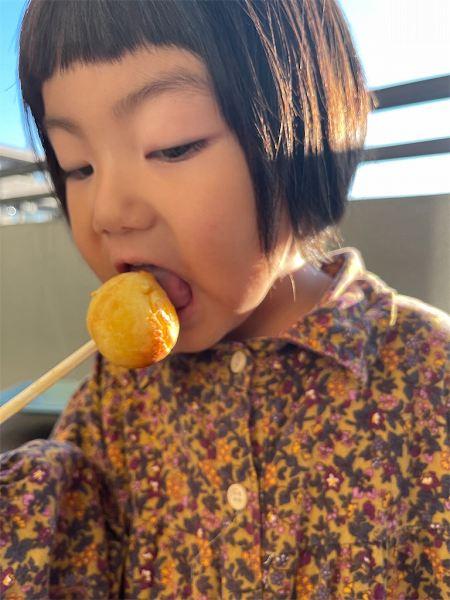 【スザンヌの妹マーガリンの子育てブログ】おうちのなかにこんな幸せが!!ベランダホットケーキまつり♡