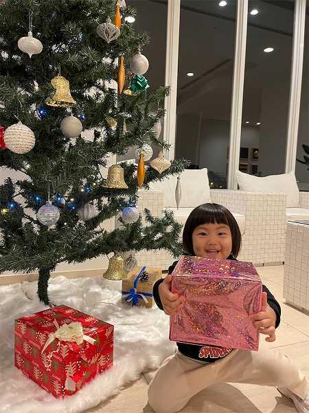【スザンヌの妹マーガリンの子育てブログ】クリスマス♡さあて、サンタさんに何をお願いしたのかな♡ホテルマリノアリゾートに泊まったよ♡