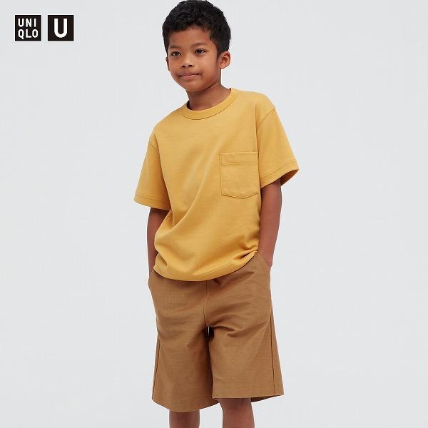 KIDS エアリズムコットンクルーネックTシャツ(半袖)