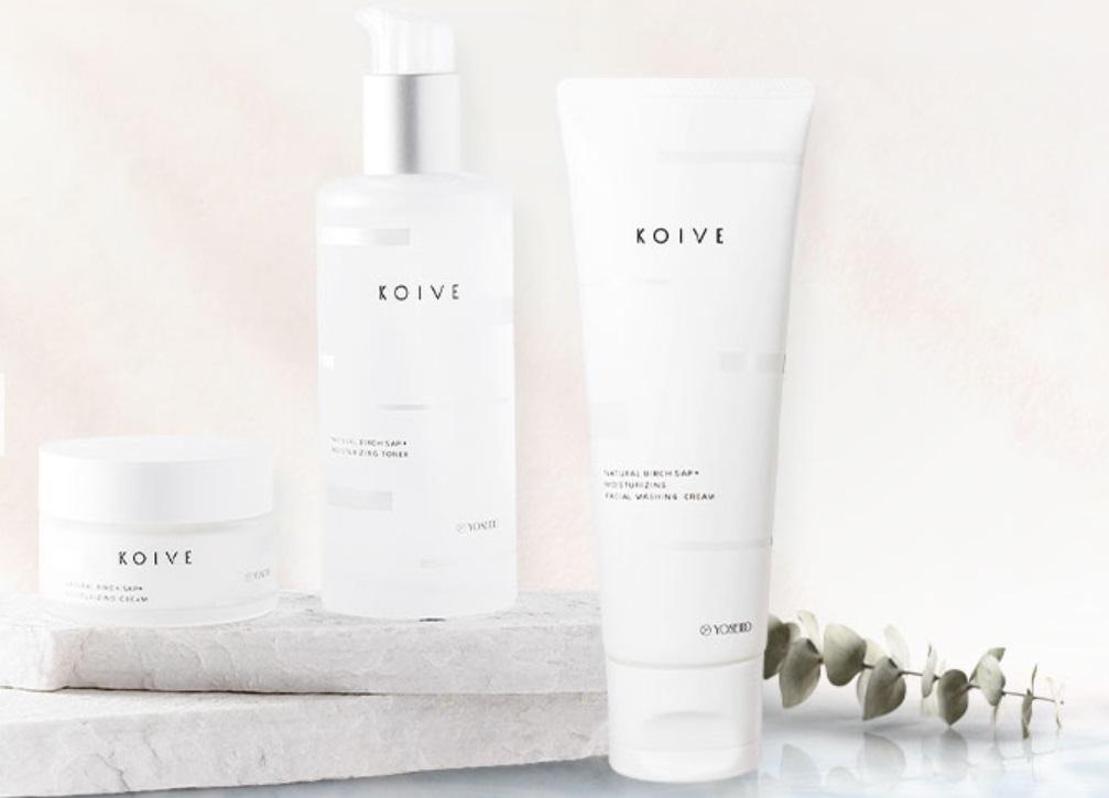 白樺樹液をたっぷり配合のKOIVEは乾燥肌にぴったり
