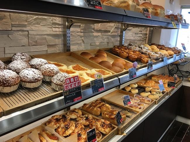 販売されているパン1