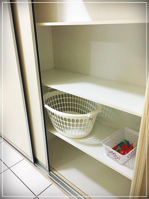 洗濯カゴと洗濯ばさみ