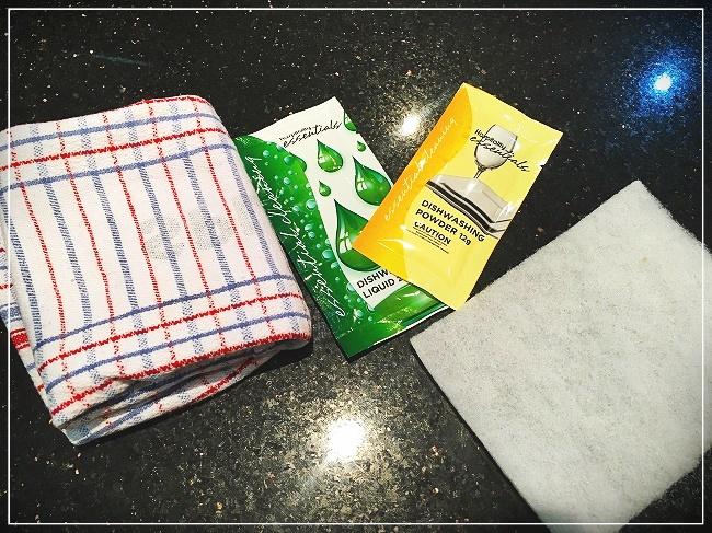 食洗洗剤やキッチンタオル