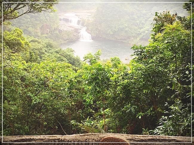 展望台からみたカンビレ―滝