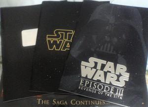 SW新三部作パンフ全部揃う。