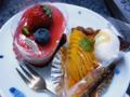 [スイーツ]ケーキ。