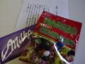 マツケンさんからドイツのお土産 チョコ&グミ