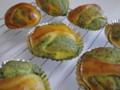 緑茶ロールパン