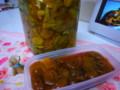 梅のカリカリ&煮梅