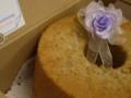 紫芋シフォン