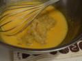 桃シフォンケーキ