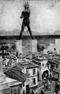 羅德島太陽神銅像