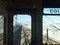 026:札沼線587D車窓・新川駅発車、札樽道をオーバークロスする斜張橋