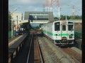 [鉄道][駅][風景][キハ143系]034:札沼線587D車窓・列車の半数はあいの里公園で折り返し/080725