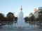 057:札幌・大通公園噴水とテレビ塔/2008.07.25