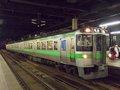 [鉄道][721系][貫通幌]721系F-1編成(Mc721-1側)/札幌駅2008.07.25