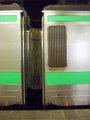 [鉄道][721系][貫通幌]721系F-14編成:Mc721-14とM721-14連結面/札幌駅2008.07.25