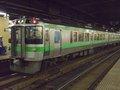 [鉄道][721系][貫通幌]721系F-14編成・Mc721-14/札幌駅2008.07.25