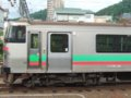 [鉄道][731系]EC/DC併結(7)731系・Tc731-116前頭部側面/小樽駅留置線080728