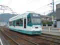 [鉄道][名鉄600V]名鉄モ802/美濃町線日野橋駅2005.03