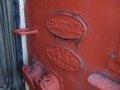 [鉄道][キハ22][小樽市総合博物館]キハ22-56妻面エンブレム/小樽総合博物館2008.07.26