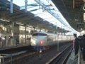 [鉄道][新幹線]0系新幹線・こだま639号(R61編成)22-7008側/新大阪駅出発2008.11