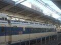 [鉄道][新幹線]0系新幹線・こだま639号(R61編成)1号車(21-7008)後方アングル/新大阪駅2008.