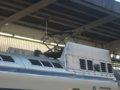 [鉄道][新幹線]0系新幹線・こだま639号(R61編成)6号車(22-7008)パンタグラフ/新大阪駅2008.