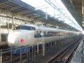 [鉄道][新幹線]0系新幹線・こだま639号(R61編成)22-7008側/新大阪駅2008.11