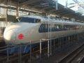 [鉄道][新幹線]0系新幹線・こだま639号(R61編成)6号車(22-7008)/新大阪駅2008.11