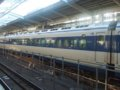 [鉄道][新幹線]0系新幹線・こだま639号(R61編成)5号車(25-7009)/新大阪駅2008.11