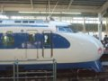 [鉄道][新幹線]0系新幹線・こだま639号(R61編成)1号車(21-7008)サイドビュー/新大阪駅2008.