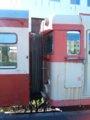 [鉄道][キハ58系][貫通幌][小樽市総合博物館]キハ27-11(キハ25との連結面)/小樽市総合博物館2008.07.26