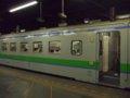 [鉄道][キハ141系]札沼線1653D(折返し待ち)キハ142-7/札幌駅2008.07.25