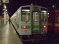 [鉄道][キハ141系][貫通幌]札沼線1653D(折り返し待ち)キハ142-7/札幌駅2008.07.25