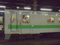 [鉄道][キハ143系][貫通幌]札沼線647D(4)キハ143-102前頭部・台車/札幌駅2008.07.25