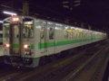 [鉄道][キハ143系][貫通幌]札沼線647D(3)キハ143-102等3連/札幌駅2008.07.25