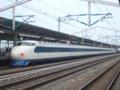 [鉄道][新幹線]こだま639号(0系R61編成:22-7008側)ローアングル/西明石駅2008.11