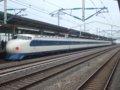 [鉄道][新幹線]こだま639号(0系R61編成:22-7008側)/西明石駅2008.11