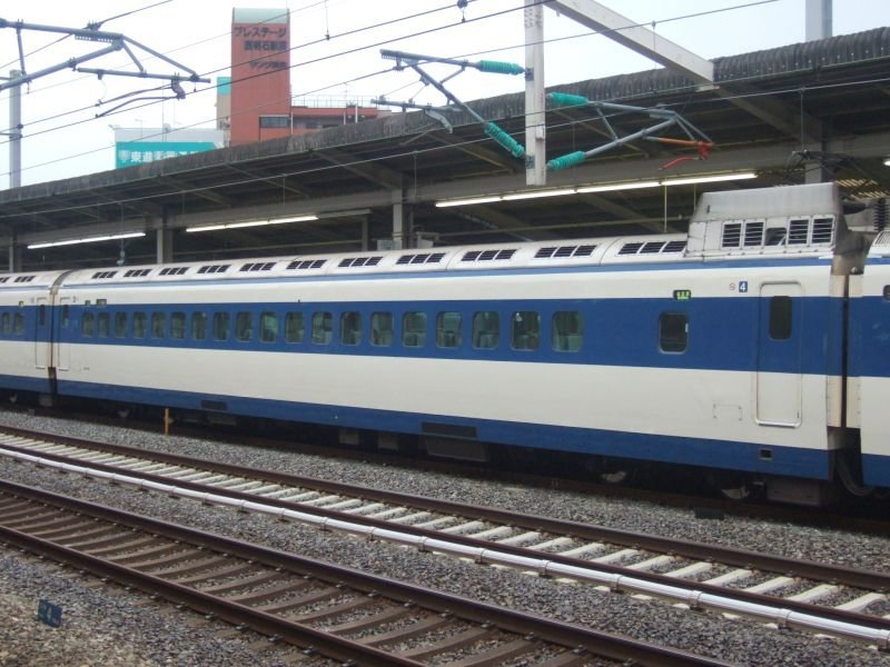 こだま639号(0系R61編成)4号車(26-7011)/西明石駅2008.11