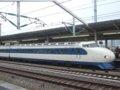 [鉄道][新幹線]こだま639号(0系R61編成)21-7008サイドビュー/西明石駅2008.11
