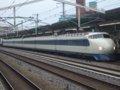 [鉄道][新幹線]こだま639号(0系R61編成:21-7008側)/西明石駅2008.11