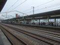 [鉄道][新幹線]西明石駅ホーム(対向式2面2線・待避線&本線)/2008.11