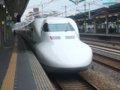 [鉄道][新幹線]ひかり364号(700系C22編成:723-21側)/西明石駅2008.11
