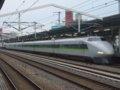 [鉄道][新幹線]こだま637号(100系K55編成:121-5055側)1024pix版/西明石駅2008.11