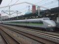 [鉄道][新幹線]こだま637号(100系K55編成:121-5055側)/西明石駅2008.11