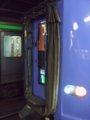 [鉄道][キハ261系][貫通幌]キロハ261-201貫通扉部分/札幌駅2008.07.26